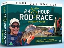 ANOTHER 24 HOUR ROD RACE 4 DVD SET WYE VALLEY CANALS - FISHING MATT HAYES - NEW