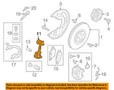 VOLVO OEM 16-18 XC90 Brake-Front-Disc Caliper Support Bracket 36003165