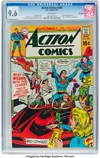 Action Comics #388 CGC 9.6 5/70 WHITE PAGES SUPERMAN BIZARRO BRAINIAC TWINCITIES