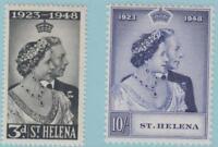 St. Helena 130 - 131 Mint Hinged OG * - No faults Extra Fine!