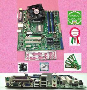 SCHEDA MADRE SOCKET 775 ASUS-PEGATRON IP4BL-ME+CPU INTEL CORE2DUO 6550+4 GB RAM
