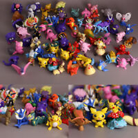 Random 10PCS Real Tomy Vintage Animation Animal Pet And Nintendo Monster Figures