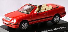 Mercedes-benz CLK 230 cabrio A208 1997-99 1 72 rojo red