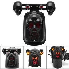 Skull Turn Signal Rear Brake Tail Light For Honda Shadow ACE 750 VT750C VT750DC