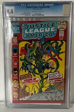 JUSTICE LEAGUE OF AMERICA #99 - CGC 9.4 - 52 PAGE GIANT ISSUE