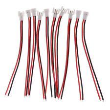 10pcs 51005 2-Pin Connector Plug Male&Female with 100mm Wire for RC Battery