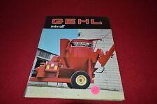 Gehl 125 170 Mix All Grinder Mixer Dealer's Brochure AMIL9
