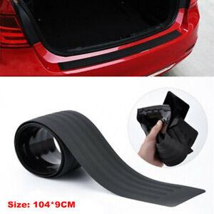 104cm Rubber Car SUV Trunk Sill Plate Bumper Guard Protector Pad Cover Universal