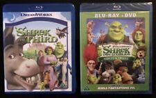 Shrek the Third  /. Shrek Forever After . 2 Blu-ray Sets. New