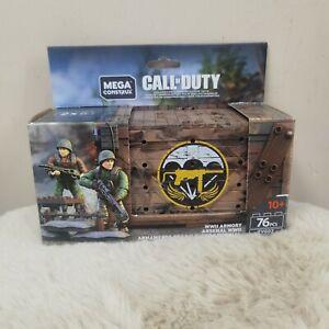 MEGA CONSTRUX Call of Duty  WWII WW2 Armory NIB FVG02