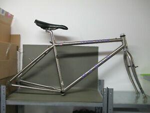 Marin Team Issue steel MTB bicycle frameset Tange Ultimate Superlight tubes