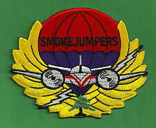 MISSOULA MONTANA U.S. FOREST SERVICE SMOKE JUMPER FIRE PATCH
