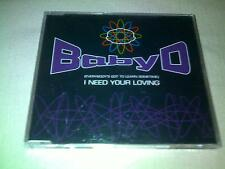 BABY D - I NEED YOUR LOVING - 1995 DANCE CD SINGLE