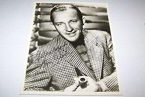 Vintage 8x10 PHOTO #631-  SINGER BING CROSBY - SINGER