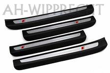 Original Audi Q7 S-Line Tuning Alu Einstiegsleisten Einstiege Schweller Leisten