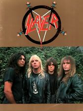 Slayer 1987 Reign In The Blood Tour Concert Program Book / Ex 2 Nmt