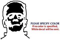"""Frankenstein Game Movie Graphic Die Cut decal sticker Car Truck Boat Window 7"""""""