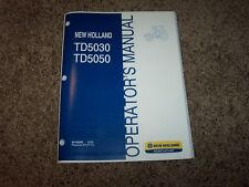 NH New Holland TD5030 TD5050 Tractor Owner Owner's Operator User Guide Manual