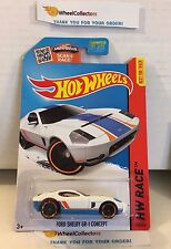 Ford Shelby GR-1 Concept #178 * WHITE Kmart Only * 2015 Hot Wheels * J26