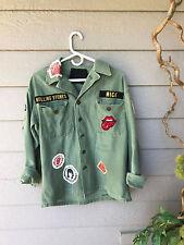 AMAZING~$460 MADEWORN Rolling Stones 1975 Jacket SZ M