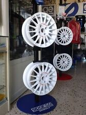4 CERCHI OZ RACING WHEELS 4*108 ATTACCO PEUGEOT FORD SUPERTURISMO WRC CERTIFICAT
