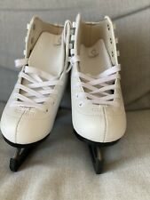Kids Oxelo Ice Skates White Size 13