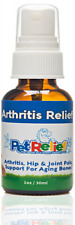 Pet Relief Natural Arthritis Pain Relief Supplement for Dogs, 30ml(40 Day Supply