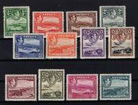 P126895/ BRITISH ANTIGUA – SG # 98 / 109 COMPLETE MINT – CV 170 $
