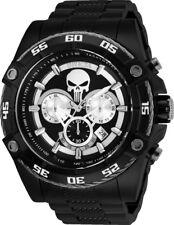 Relógio Invicta 26862 Marvel Punisher Masculino 52mm Cronógrafo Preto-Tom de aço inoxidável