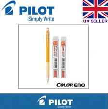 Piloto Color Eno Portaminas 0.7mm (plcr - 7-S8) Lápiz + 2 Naranja conduce