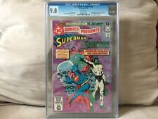 DC Comics Presents #29 Superman And The Spectre CGC 9.8 With WHITE Pages