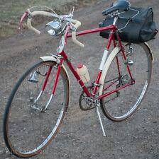 Vintage Raleigh Gran Sport Tour RoadBike Campagnolo GB Brakes Brooks Bag Bicycle