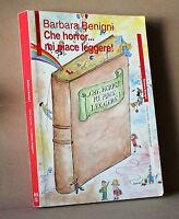 che horror... mi piace leggere - Benigni - Seam