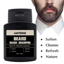 Lanthome Beard Shampoo Anti Dandruff Nourishing Moisturizing Facial Oil Cleanse