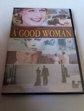 "DVD ""A GOOD WOMAN"" COMO NUEVO MIKE BARKER SCARLETT JOHANSSON HELEN HUNT"