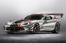 2017 Dodge Viper ACR with Aero package 24X36 inch poster, sports car, muscle car