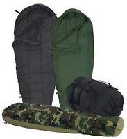 Sleep System US Army MSS 4 Piece Military Sleeping Bag USGI ECW Good