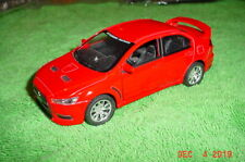 2008 Mitsubishi Lancer Evo Evolution X CAR 1:36 Scale w Lights Red