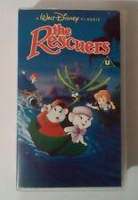 The Rescuers VHS Video - Walt Disney