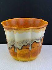 schöner alter Keramik Übertopf ca. 20er Jahre signiert