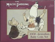 "2006  ""Magic Pudding"" Australian Baby Coin Set:C/V $65"