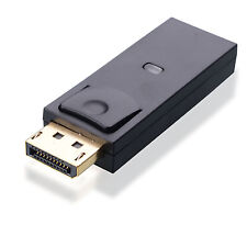 Display Port Male to HDMI Female Gold Plated Adapter