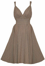 Party Polyester 50's, Rockabilly Plus Size Dresses for Women