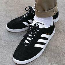 Adidas Originals Gazelle Black / White BB5476 Trainers Shoes UK 9 EU 43 1/3