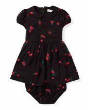 Ralph LAUREN chicas'S Cereza-Print Dress & Bloomer-Baby