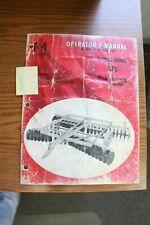 Ih 370 Disk Harrow Operators Manual