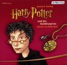HARRY POTTER UND DER HALBBLUTPRINZ 22 CD HÖRBUCH NEU