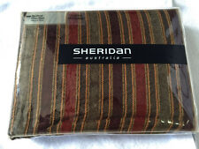Sheridan Double Bed Quilt/Doona Cover Pillowcases Set, Mansfield Walnut