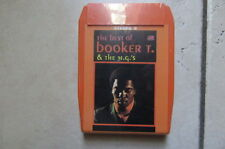 BOOKER-T  BEST OF CASSETTE  CARTOUCHE 8 PISTES  NEUVE SCELLEE