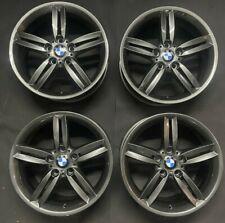 """Genuine BMW 208M 18"""" Alloy Wheels Gun Metal Grey F20 F21 F22 F23 F87 E81 E88 E87"""